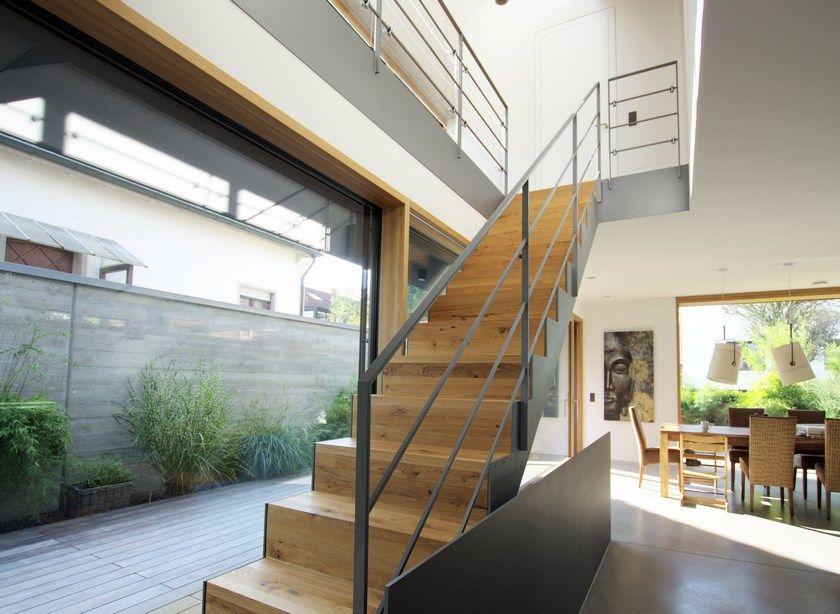 Architektenhaus Karlsruhe Cortenstahl - Putz Haus Pinterest House - cortenstahl innenbereich ideen