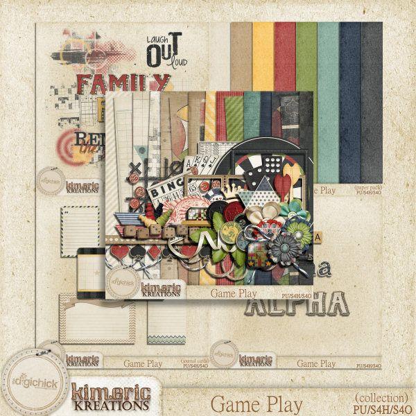 Scrapbooking TammyTags -- TT - Designer - Kimeric Kreations,  TT - Item - Frame, TT - Style - Cluster