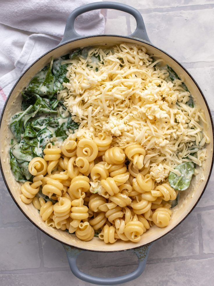 Spinach Mac and Cheese – Creamed Spinach Mac and Cheese