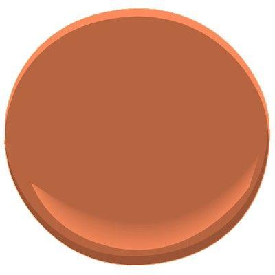 Benjamin Moore Rust 2175 30 Benjamin Moore Colors Paint Colors Benjamin Moore Paint