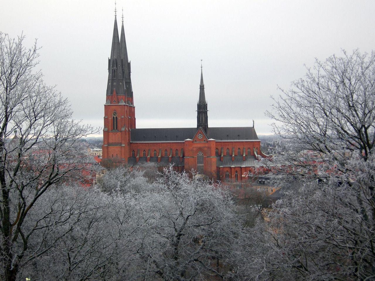Uppsala Cathedral, Uppsala, Sweden | Sweden (Kingdom of ...