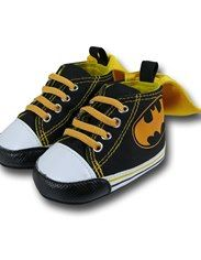 Batman Caped High Top Infant Sneakers