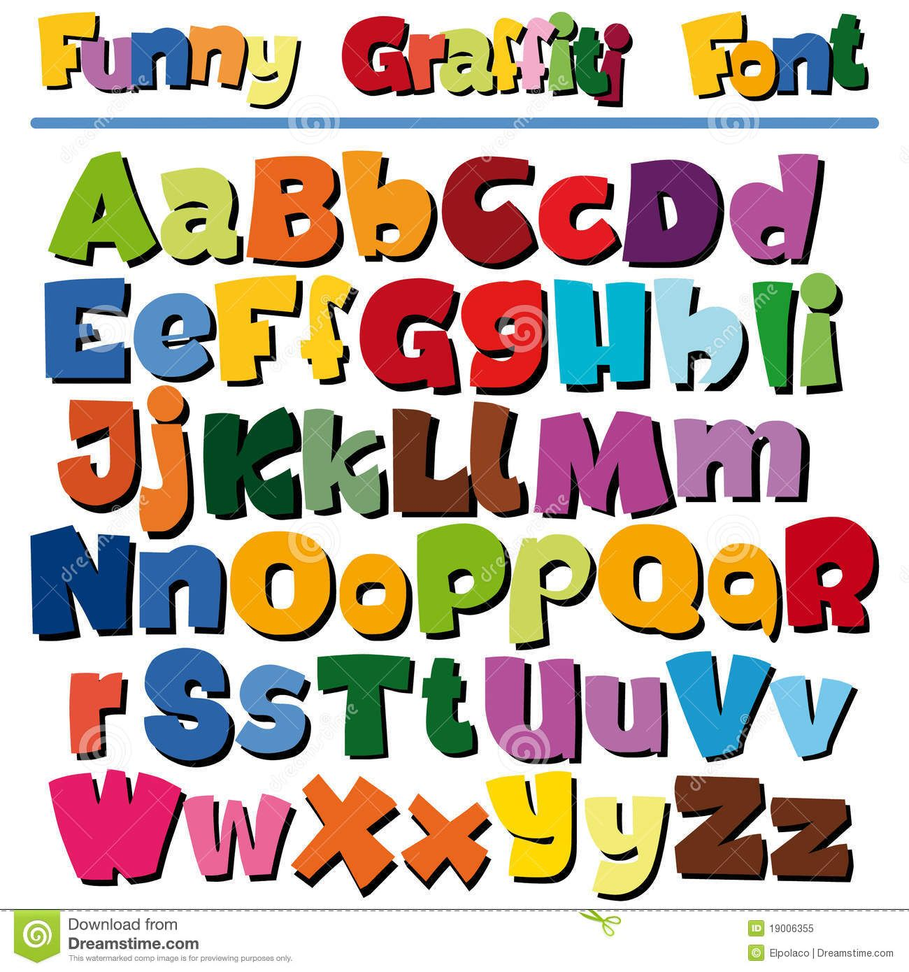 fun fonts free Google Search Lettering, Cartoon styles