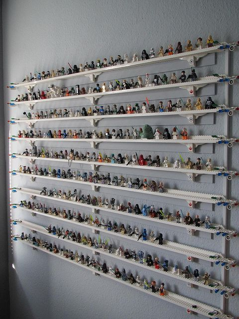 Lego Minifigure Display Wall
