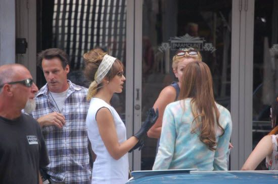 Jessica Alba filming 'Dear Eleanor' in downtown Denver