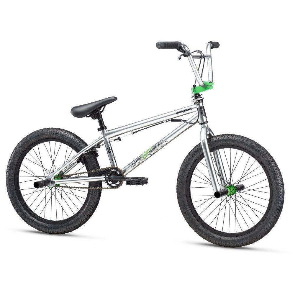 Mongoose Legion L10 20 Freestyle Bike Silver