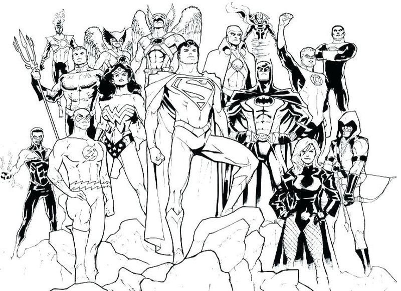 Avengers Vs Justice League Coloring Pages Cartoon Coloring Pages Superhero Coloring Pages Dc Icons