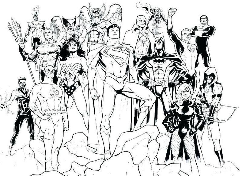 Avengers Vs Justice League Coloring Pages Superhero Coloring Pages Cartoon Coloring Pages Dc Icons