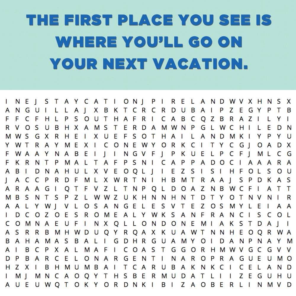 Where will you go next?