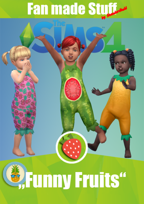 Standardheld Funny Fruits Fan Made Stuff Pack Infos