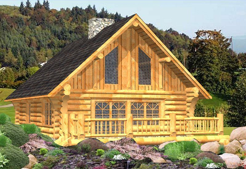 Log Cabin Plan Idea And Log Package Price For Handcrafted Log Home. Douglas  Fir Or Western Red Cedar. Custom Log Homes Built In Canada Shipped  Worldwide.