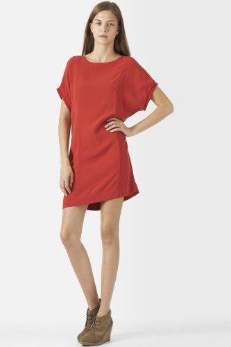 #Lacoste #Washed Viscose #Tunic #Dress
