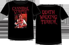 CANNIBAL CORPSE Logo Men Black T-Shirt Death Metal Band Tee Shirt