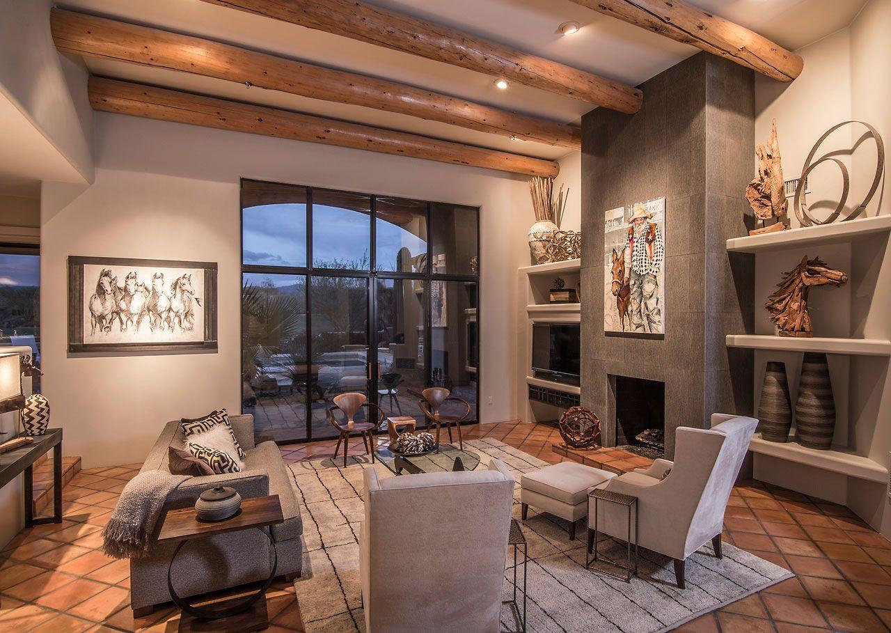 southwestern interior design style and decorating ideas on home interior design ideas id=90643