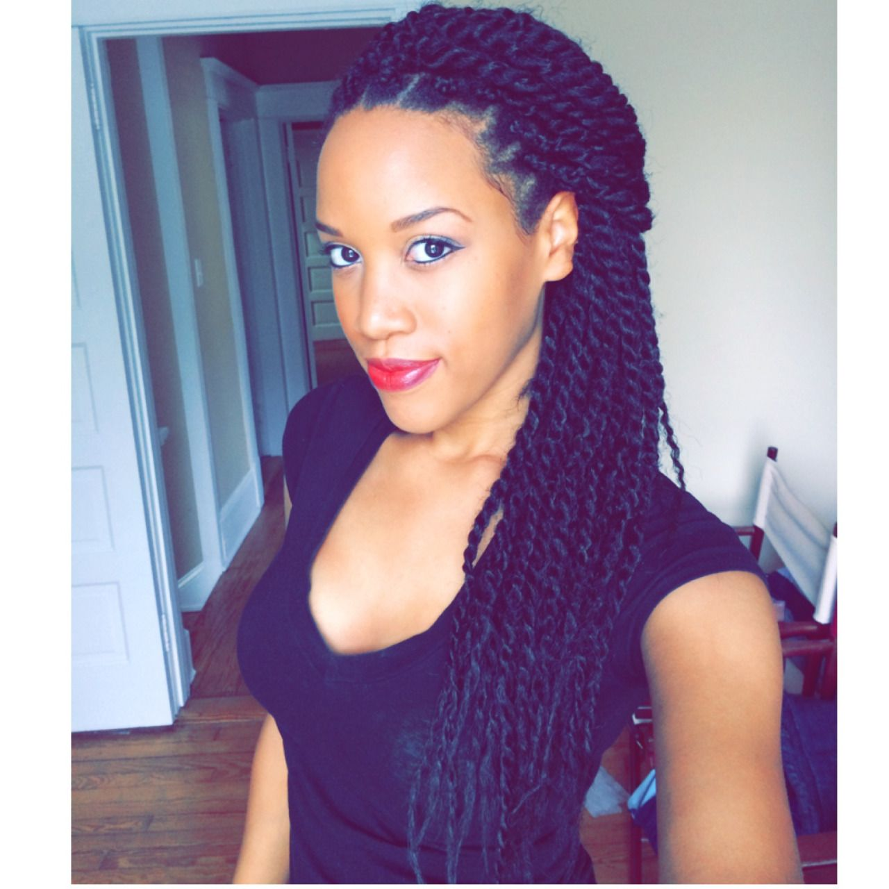 Senegalese twists tumblr natural hair pinterest