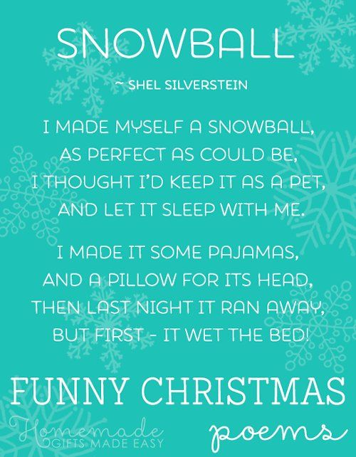 New Funny Christmas Funny Christmas Poems - Short-list of the Best funny christmas poems 9