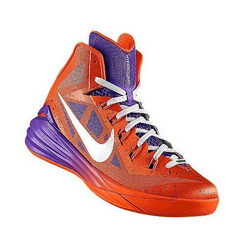 I designed the orange Clemson Tigers Nike women's basketball shoe.
