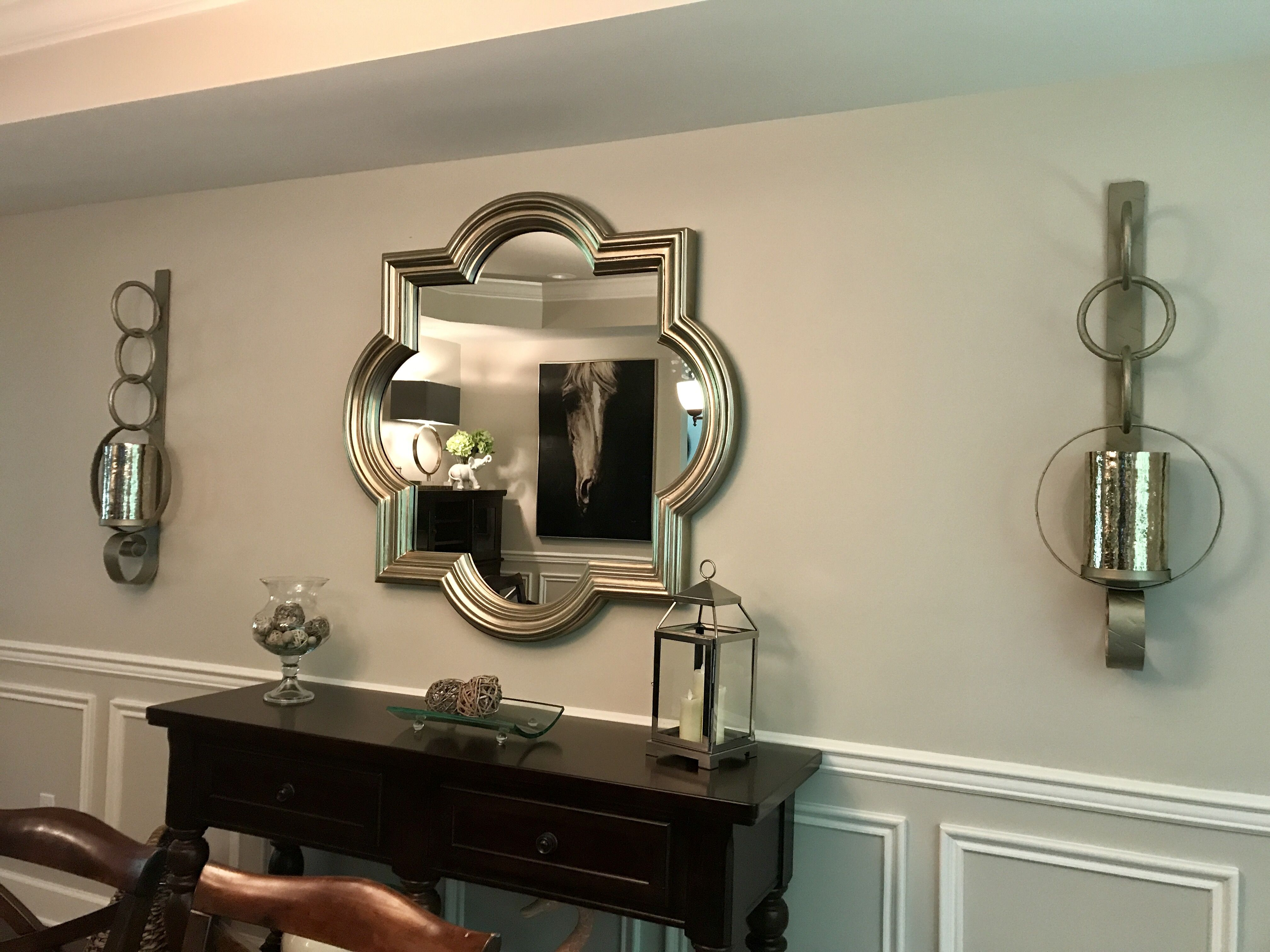 My Awesome Quatrefoil Mirror From At Home With My Fabulous Iron