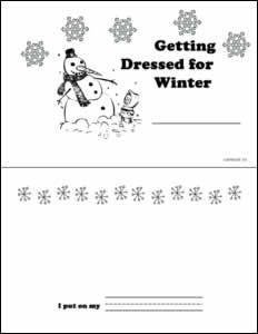 Getting Dressed for Winter Booklet