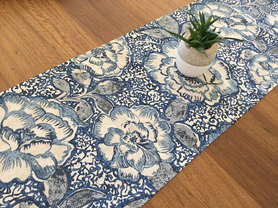Hampton Indigo | Brooks fabrics  |Hampton Style Indigo