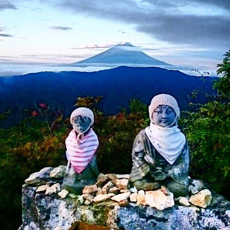 釈迦ヶ岳からの富士山