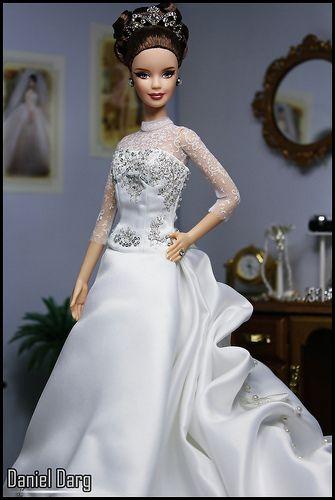 Reem Acra Barbie doll | Flickr - Photo Sharing!