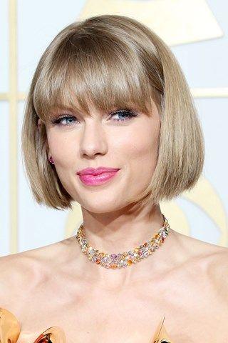Taylor Swift Hair Grammys Taylor Swift Short Hair Short Hair With Bangs Bob Hairstyles