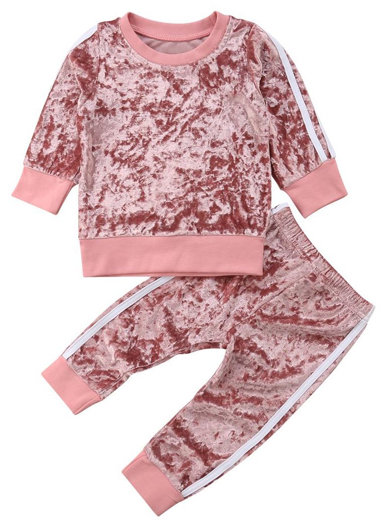 2ff1e936ae3b1 Velvet Look Set | Trendy Sets | Kids clothes sale, Toddler fashion ...