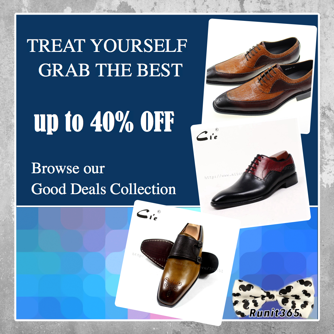 Don't miss our Winter SALE! Up to 40% off #runit365 #mensfashion #shoes #trendy