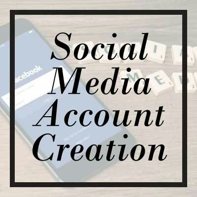 Starting at $97.00! Social Media Account Creation. Edits to existing pages.