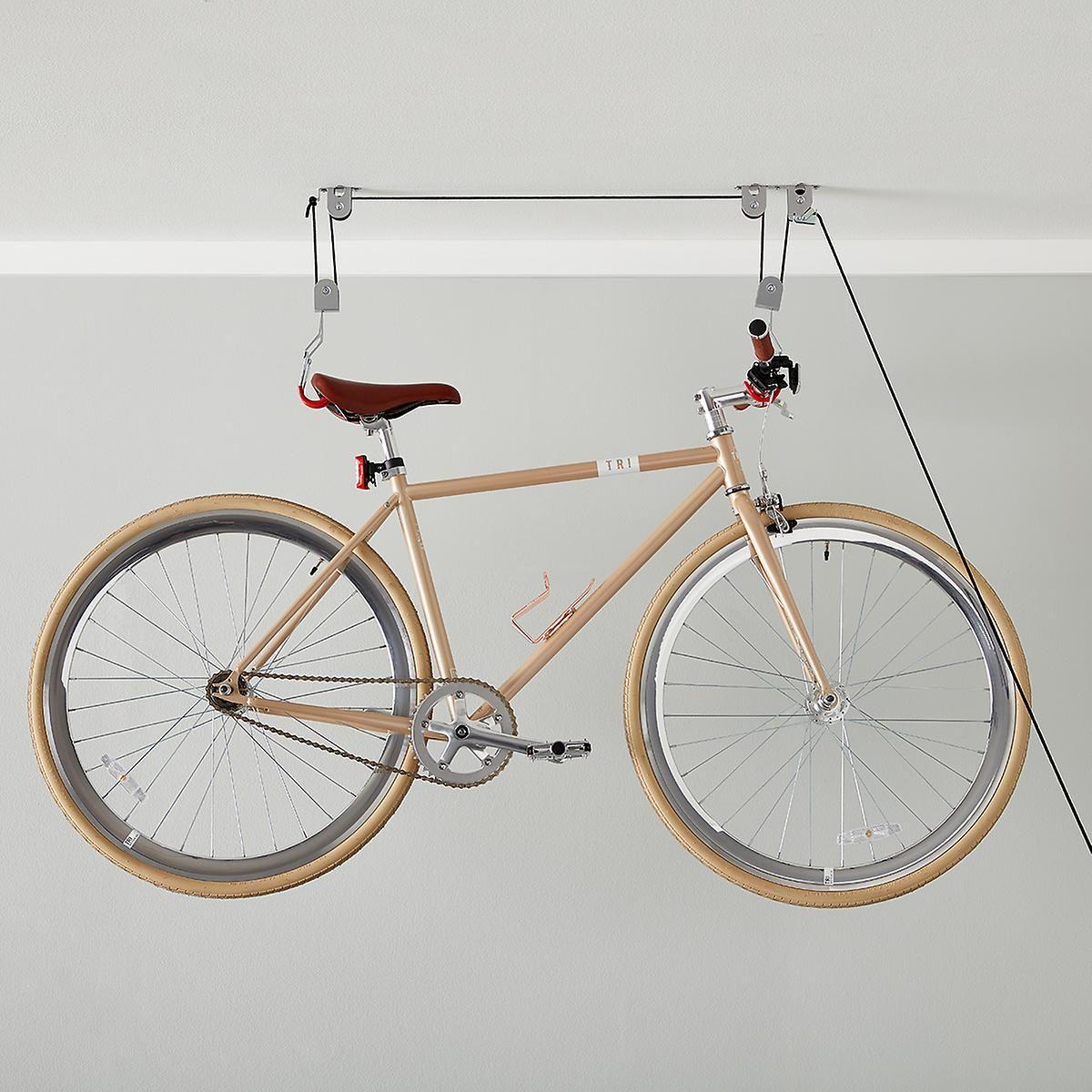 Ceiling Mount Bike Lift Bike Storage Apartment Bike Lift Indoor Bike Storage