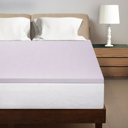 Best Price Mattress 15 Inch Lavender Infused Memory Foam Bed Topper