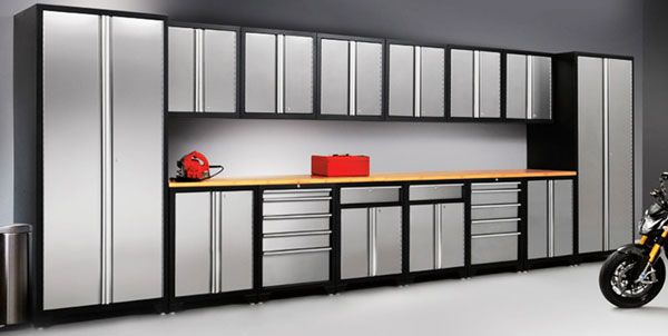 Garage Storage Garage Cabinets Gladiator Garageworks Ceiling