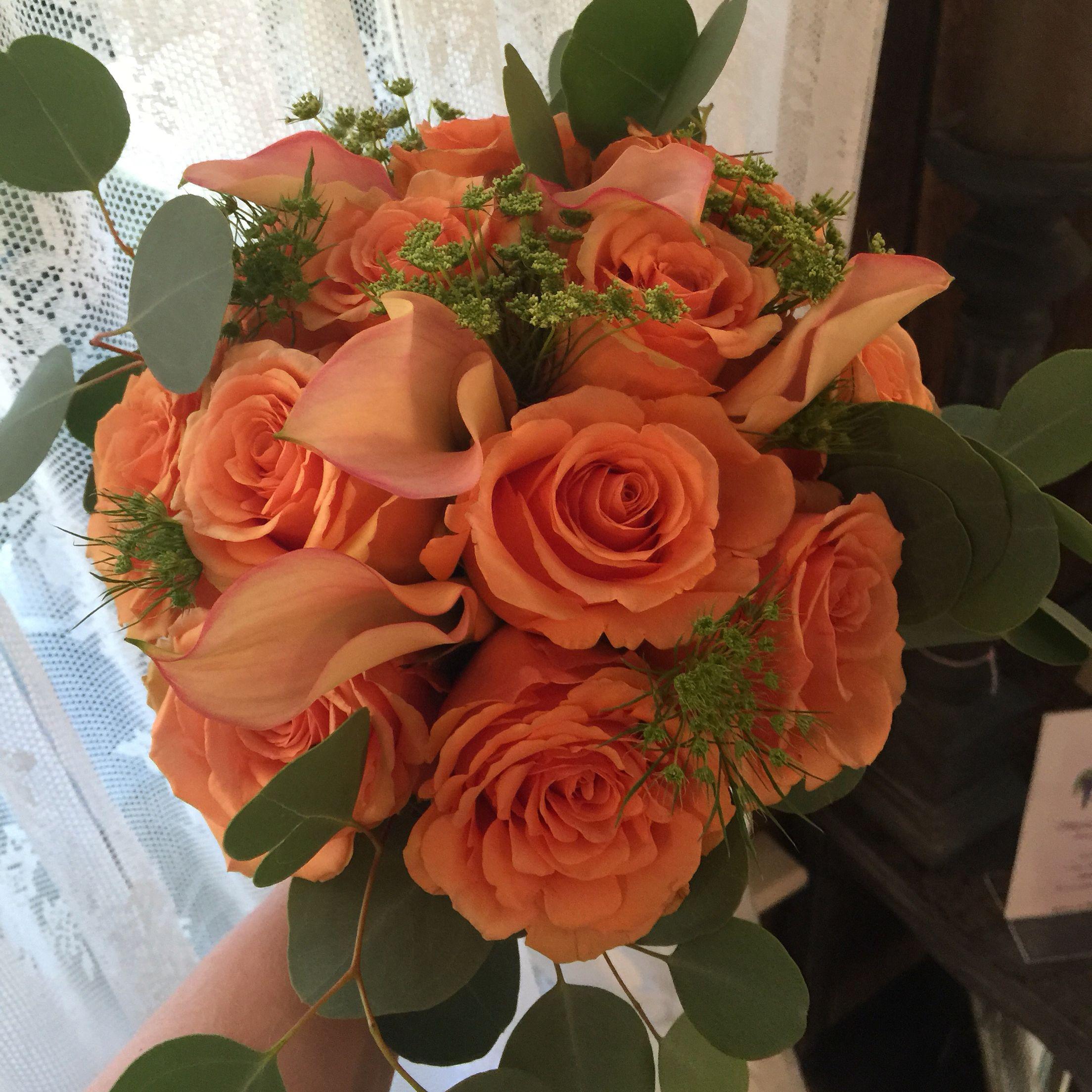 Bridesmaids Bouquet Flowers, Bridesmaid bouquet, Rose