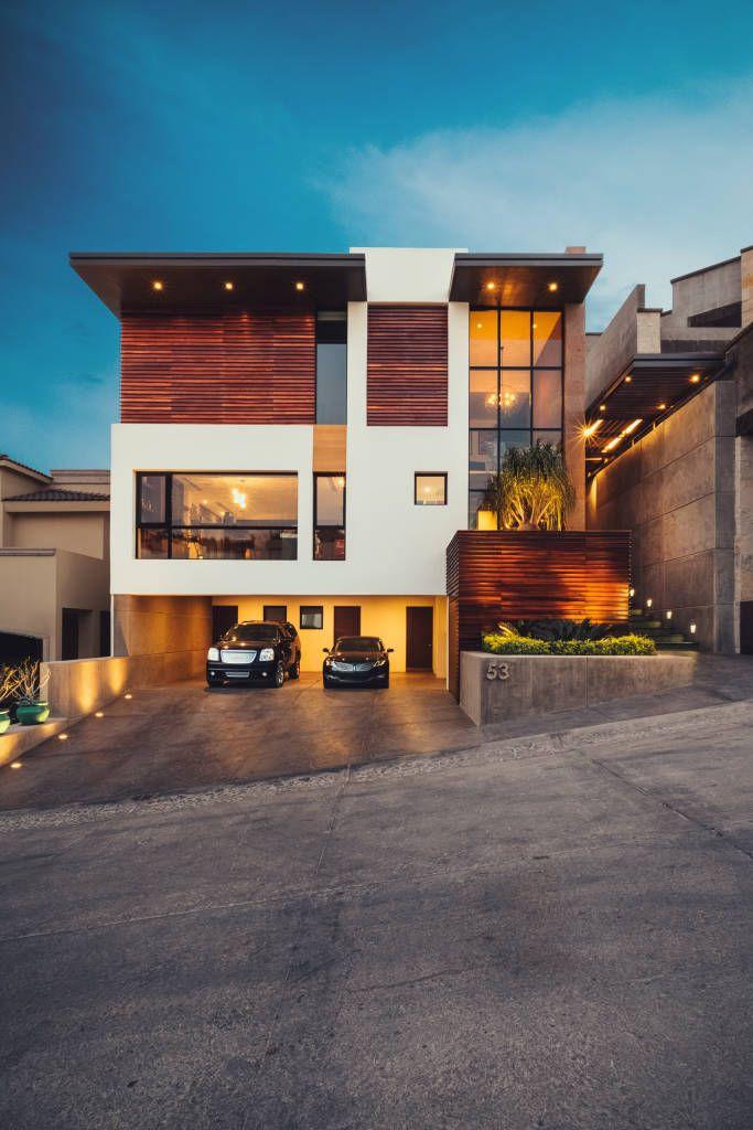 5 casas modernas con sus planos (¡te encantarán!) (De GracielaGomezOrefebre)