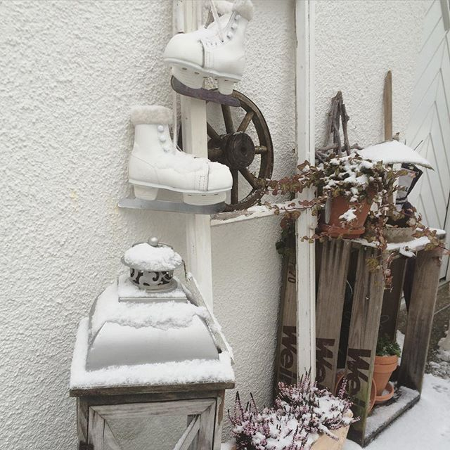 Un natale in vero stile shabby chic a casa di liise nordic style ladder decor shabby chic for Casa stile shabby chic