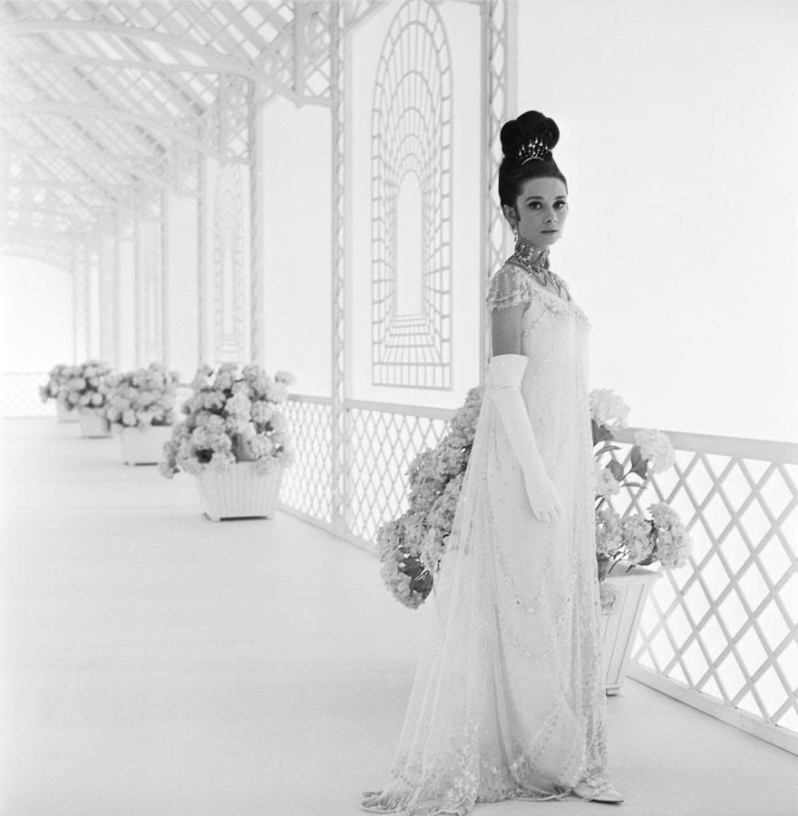 Audreyus dress in my fair lady i love her hair as well costume