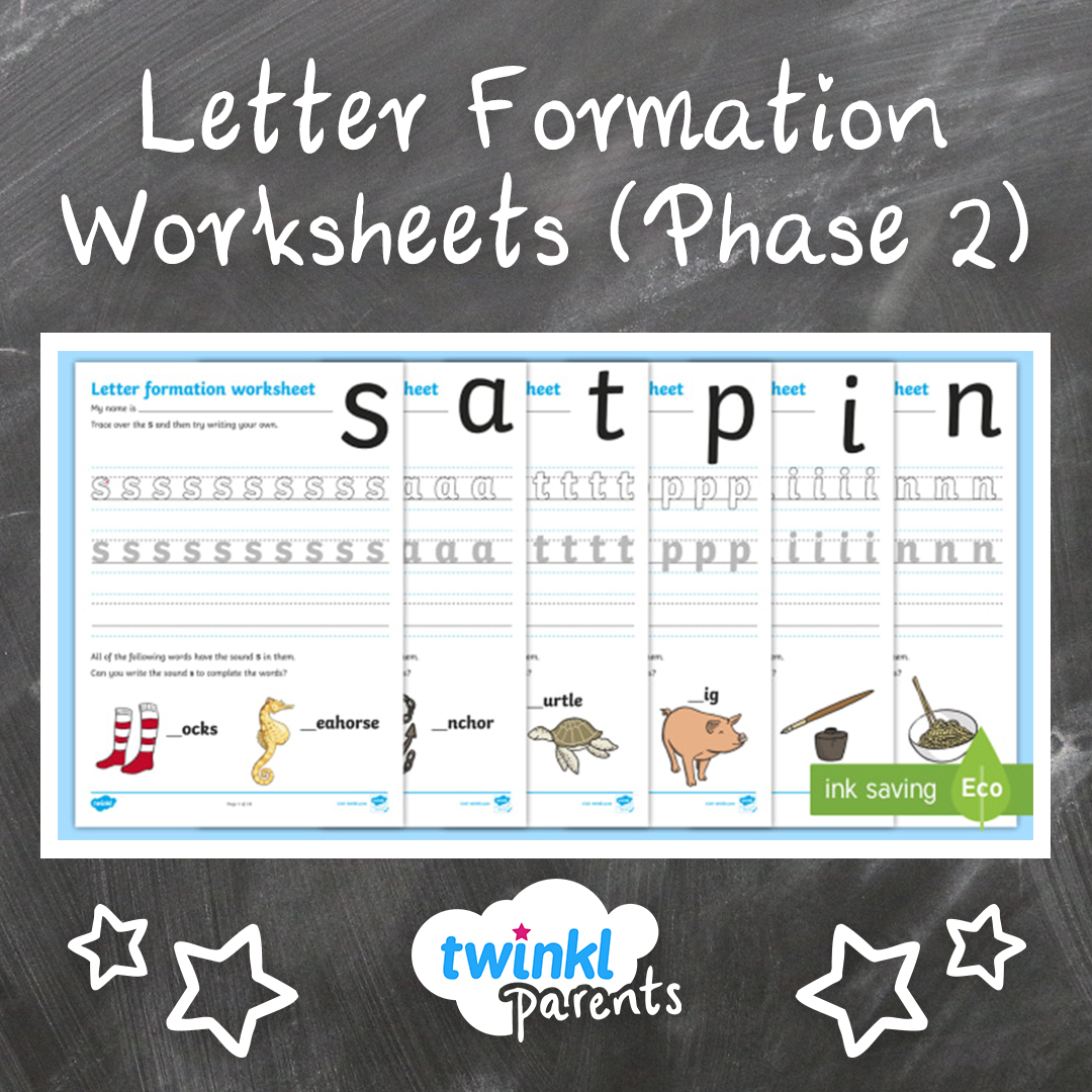 Your Children Can Practise Letter Formation Using These