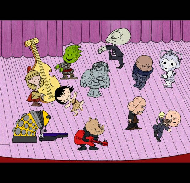 A Doctor Who Charlie Brown TV Special Mashup - ChurchMag