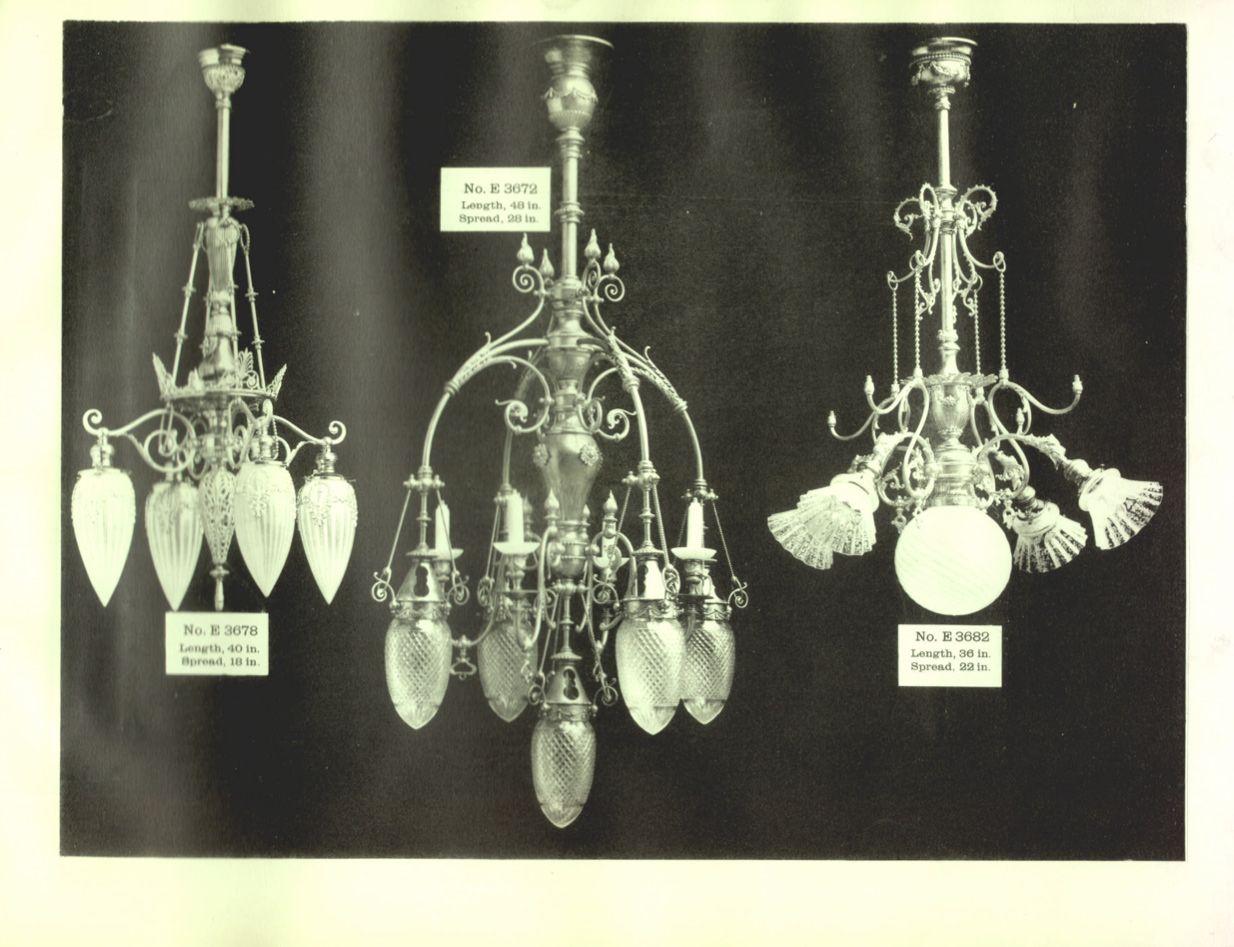 Antique Horn And Brannen Forsyth Lighting Catalog 1893