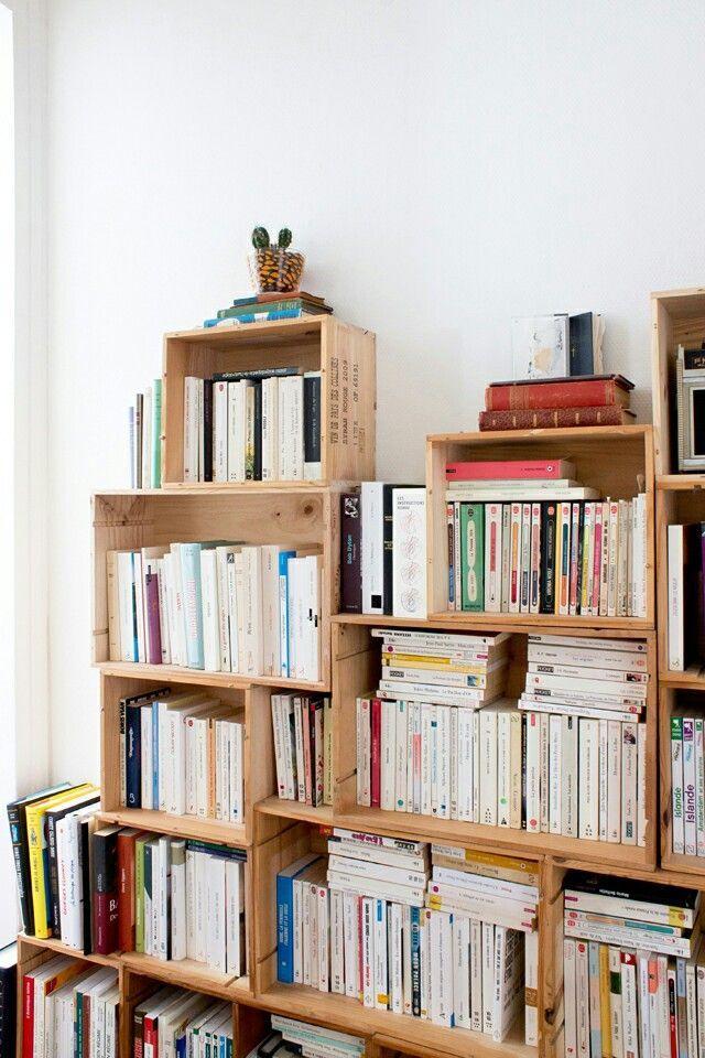 Quoi Faire Avec Des Caissons De Vin Bookshelf Styling
