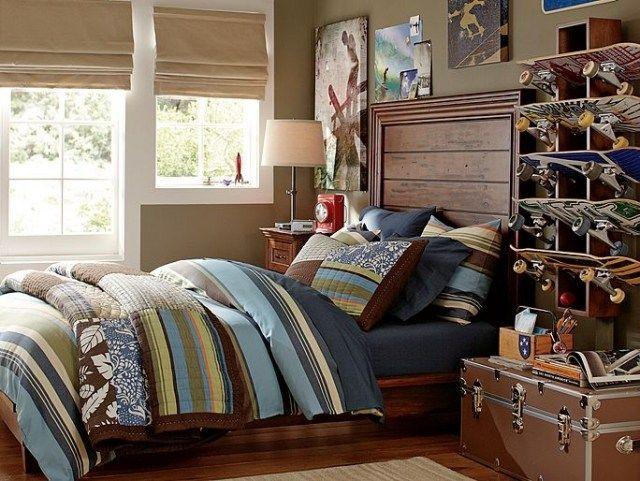 jugendzimmer einrichtung dem skater thema gewidmet steppdecke f rs bett einrichtung. Black Bedroom Furniture Sets. Home Design Ideas