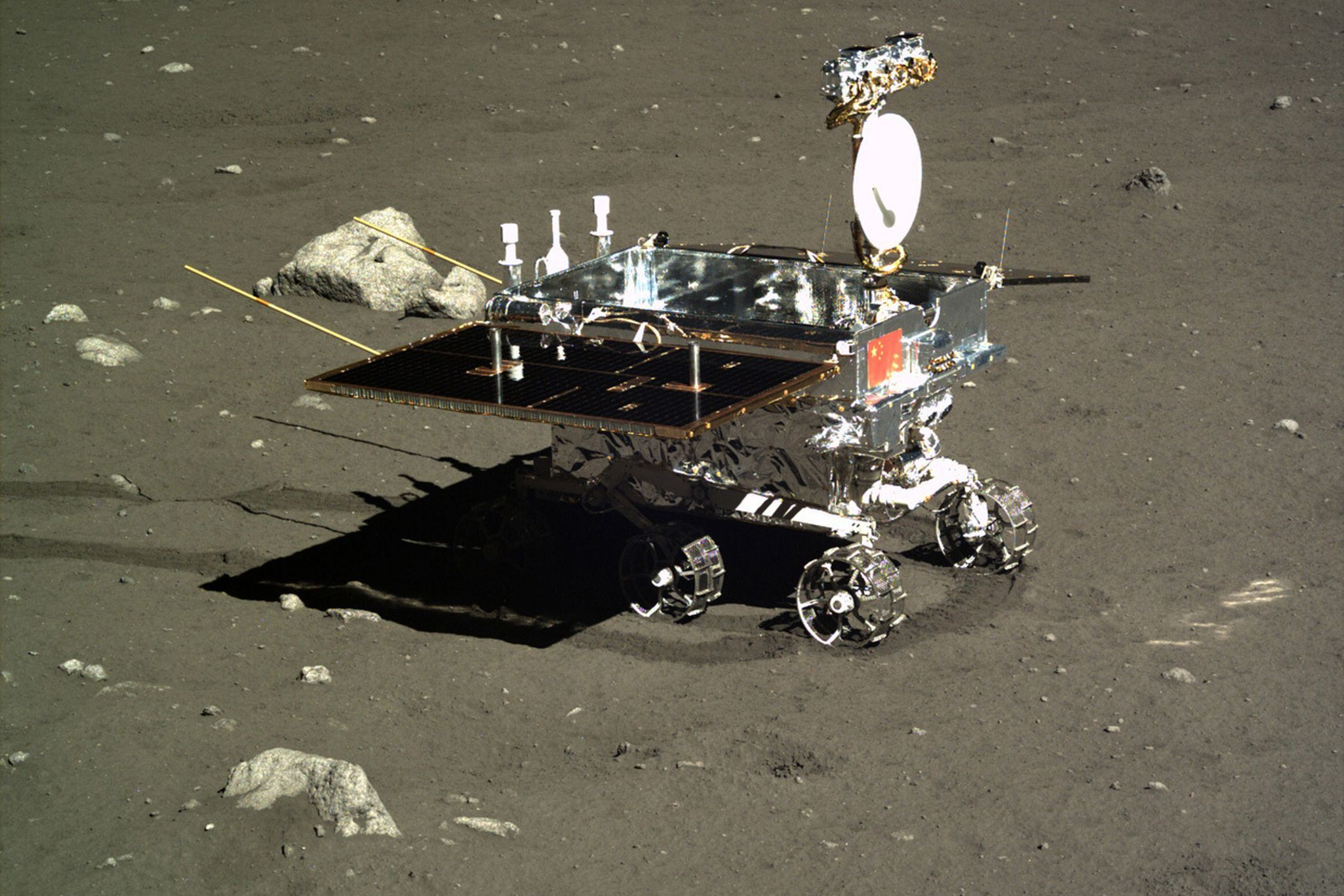 "China's lunar rover is dead — most likely for good this time. The little bot named Yutu, which means ""jade rabbit,"" has stopped scientific operations after more than 31 months on the lunar surface,..."