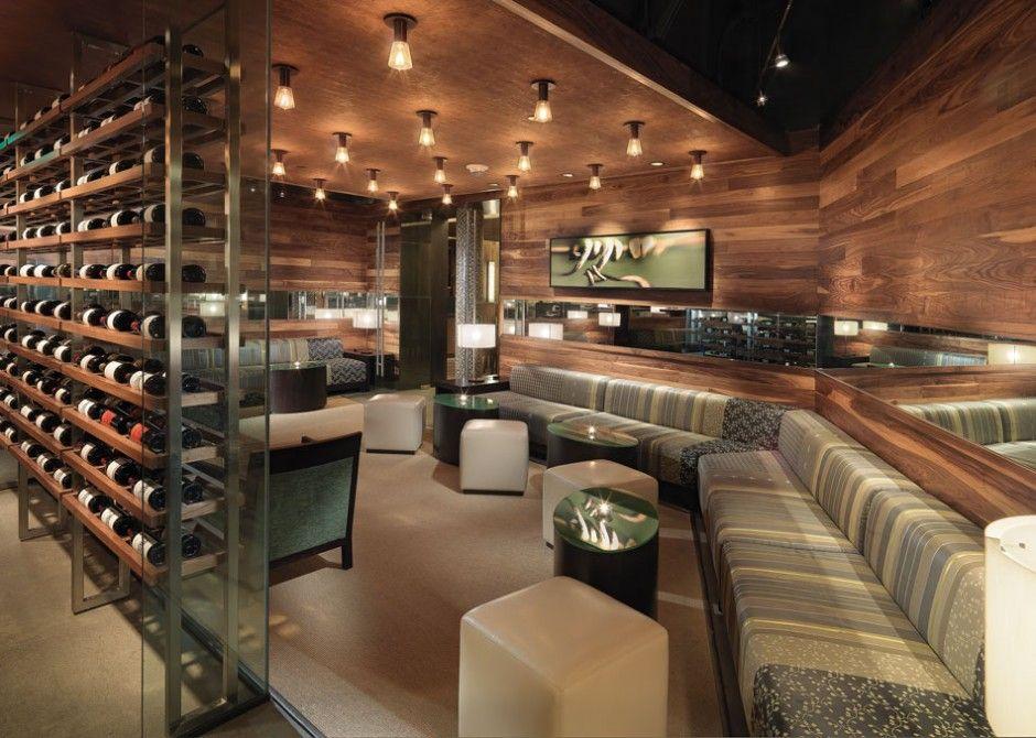 The Press Club, a Wine Bar with Contemporary Interior Design, by BCV ...