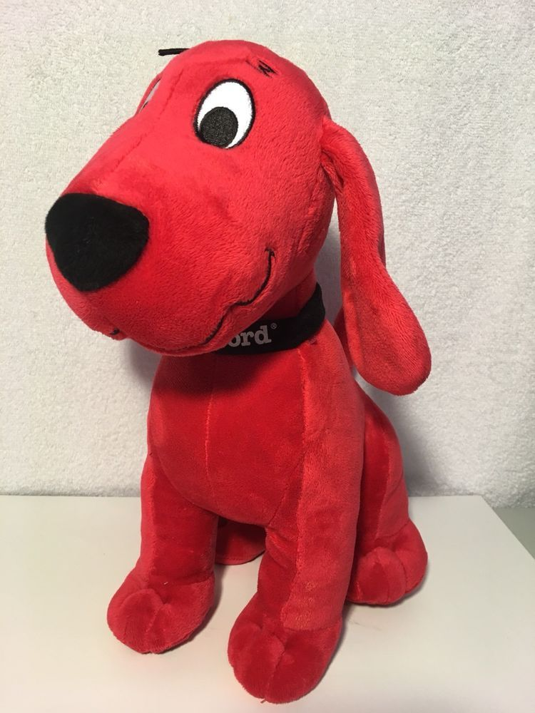Kohls Cares Clifford The Big Red Dog Plush Ebay Pet Toys Red
