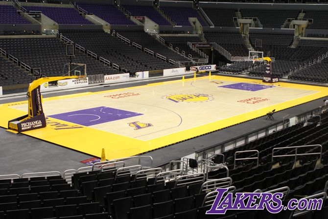 The New Lakers Court Los Angeles Lakers Lakers Nba Funny Nba Memes