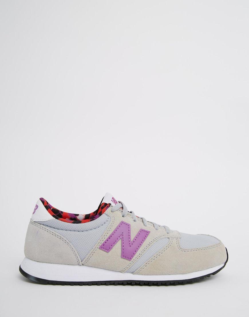 new balance beige y rosa