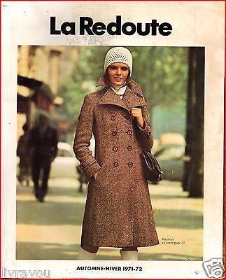▬► Catalogue LA REDOUTE Automne-Hiver 1971/1972  Mode Fashion Vintage Jouets