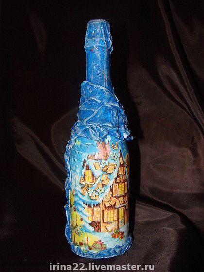 Шампанское 'Новогоднее объемное' | Copa, Ampolleta