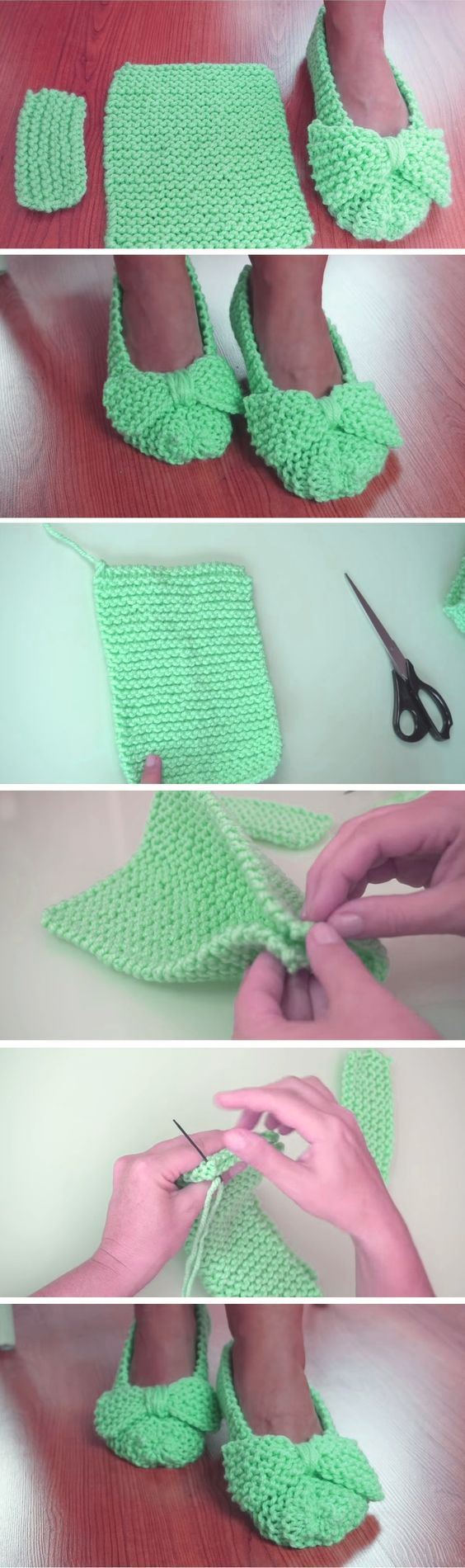Photo of Easiest Slippers to Make – Crochet or Knit – Design Peak